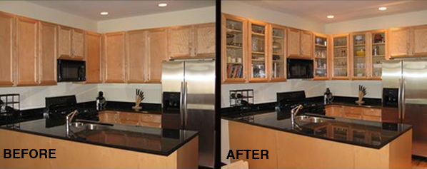 Glass Cabinet Doors. Glass Cabinet Doors Are Our Signature Solution For A  Kitchen Upgrade.